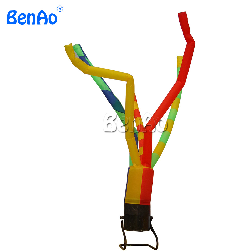AD045 BENAO Free shipping+blower 3m-5m Attractive Inflatable Air Dancer / Inflatable Tube Man / Inflatable Wind Dancer for Show 5 5m inflatable twister funny games 0 5mm pvc inflatable twister mattress with free air blower