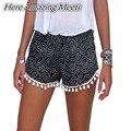 Estilo Caliente de La Manera Mujeres de la Señora Sexy Summer Casual Pantalones Cortos de Cintura Alta Short Beach