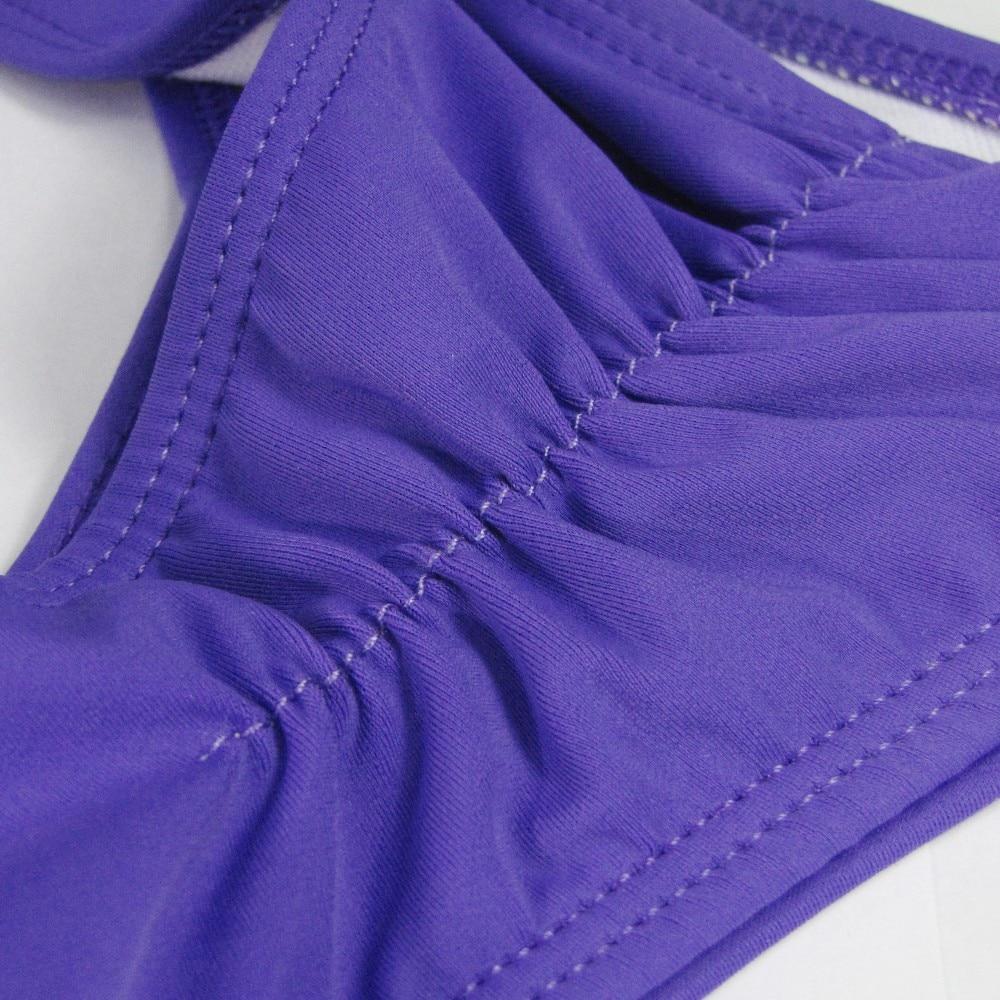 TOKITIND 2019 Cheeky Bottom Sexy Brazilian Mini Thong V Shape G-String Bikini Beach Underwear Swimwear Briefs Swimsuit Panties