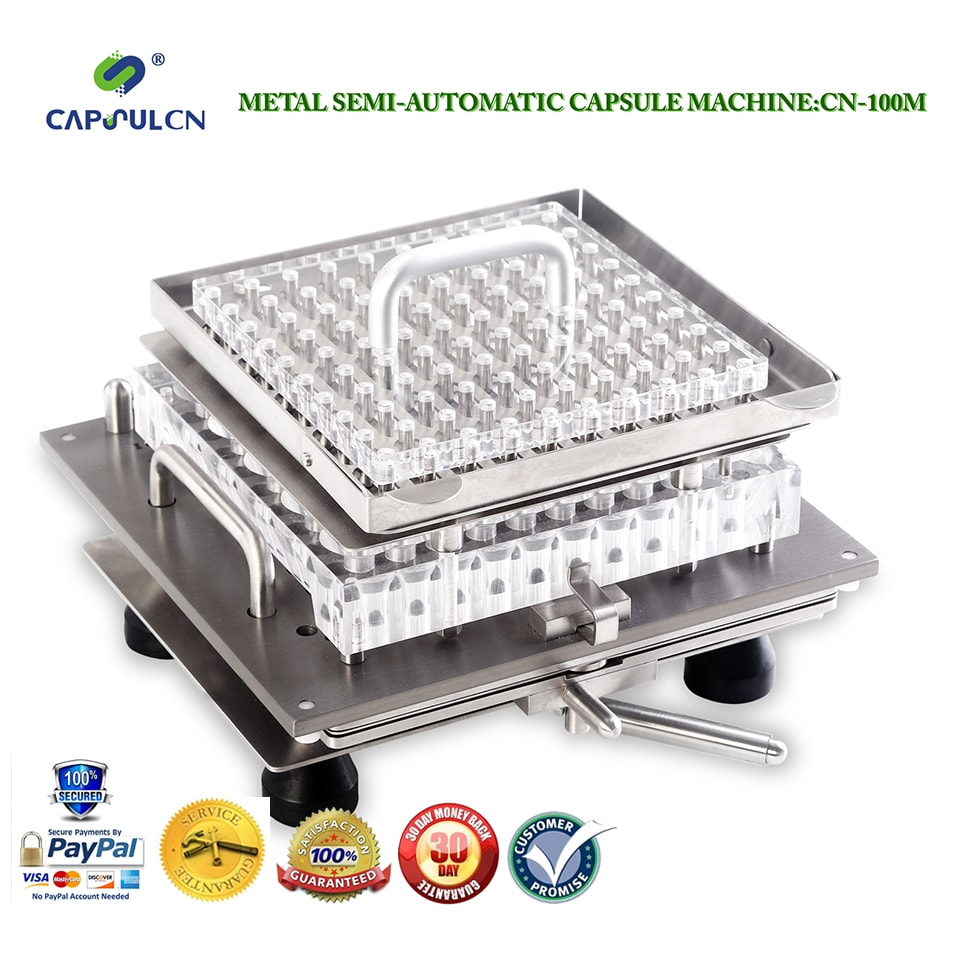 SemiAutomatic Capsule Filler CN-100M for Size 2 capsules / encapsulator/fillable Capsules Machine/capsule filling machine
