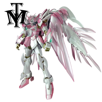 Anime Japan Mobile Suit MG 1/100 pink Wing Gundam Zero Endless Waltz Fighter Assembled Robot Orignal Box Action Figure kids toy