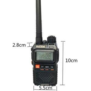 Image 4 - Baofeng UV 3R Plus Walkie Talkie Uhf Vhf Mini Uv 3R + Draagbare Cb Radio Vox Zaklamp Fm Transceiver Ham Radio amador UV3R