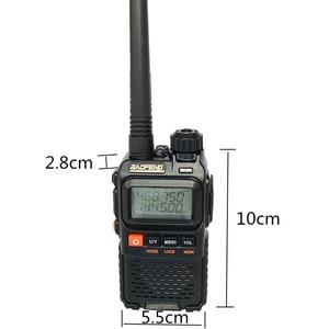 Image 4 - Baofeng UV 3R בתוספת ווקי טוקי UHF VHF מיני UV 3R + נייד CB רדיו VOX פנס FM משדר רדיו חם amador UV3R