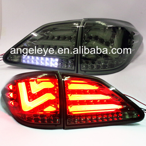 For <font><b>Lexus</b></font> RX270/RX350/450 LED Tailights Smoke Black color <font><b>2009</b></font> -2012 year LH image