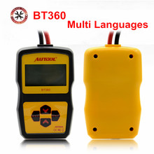 Auto-Battery-Tester Autool Bt360 Car Multi-Language Original 2000 12V Russian-Support