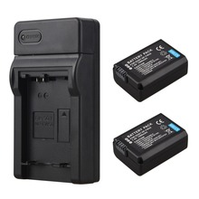 2 шт. 1500 мАч Замена цифровых фотокамер для Sony Alpha 7 A7 7R a7R 7 s a7S A3000 A5000 a6000 NEX-5N 5C A55 батареи