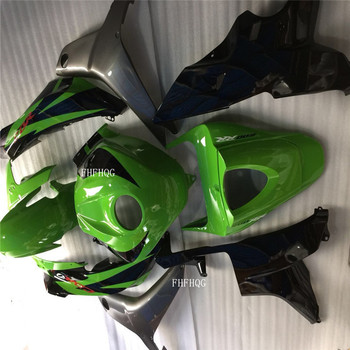 Black/green Injection mold  motorcycle body kit for HONDA CBR600 RR 2007-2008 green CBR600RR 07 08 Fairings accessories