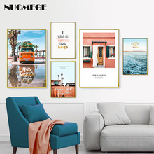 Scandinavian Style Posters on the Wall Modern Pictures Bedroom Decoration Paintings for Living Room Decoration Pictures