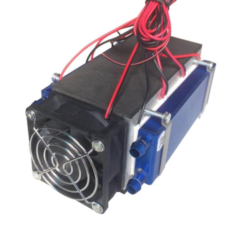 Réfrigérateurs thermoélectriques Peltier 12 V 576 W 6-Chip TEC1-12706 bricolage réfrigération dispositif de refroidissement par Air refroidisseur thermoélectrique