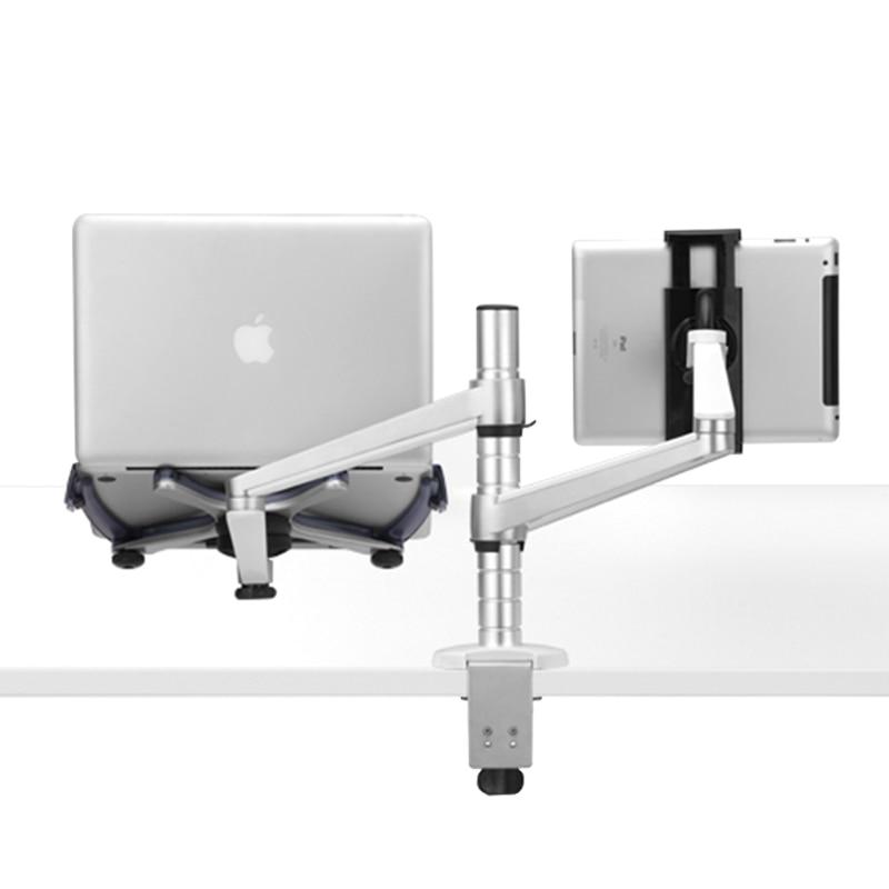 Universaalne 2 in 1 kahe relvaga tahvelarvuti sülearvuti seista IPad - Tahvelarvutite tarvikud - Foto 6