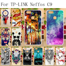 Anunob Phone Case For TP-LINK Neffos C9 TP707A TP707C Cases Silicone Soft Back Cover For TP-LINK Neffos C9 TPU Funda Coque 5.99