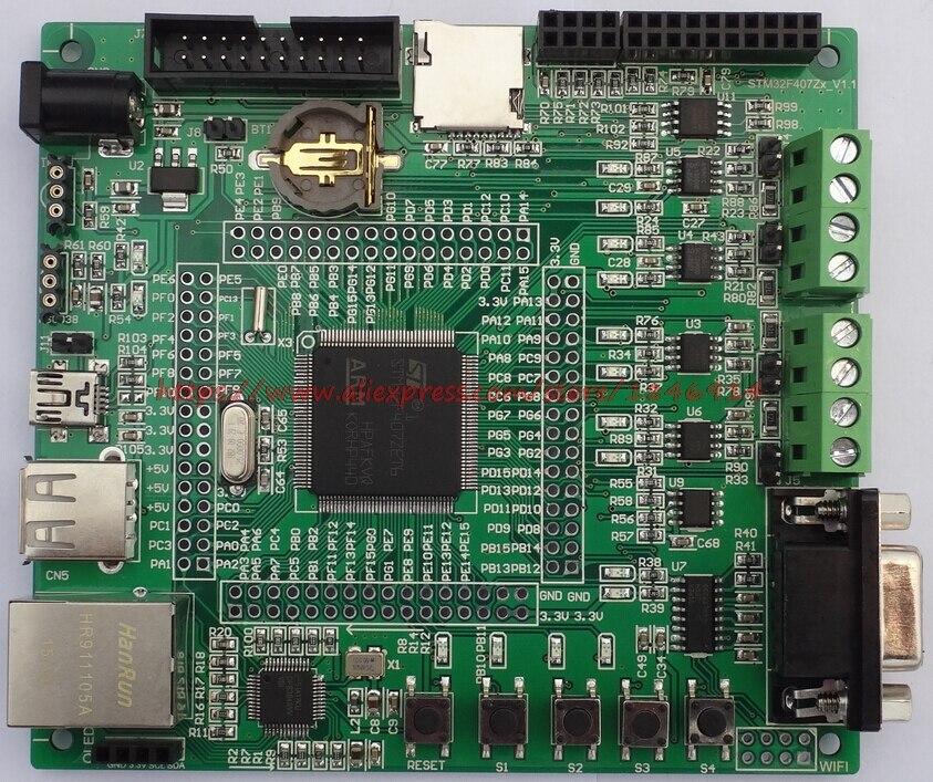 STM32F407 Development Board (enhanced) / Ethernet /CAN/485/RFID/
