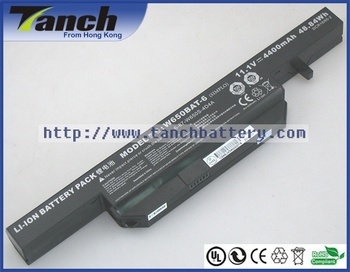 Laptop Battery W650BAT-6 31CR18/65-2 6-87-W650S-4D7A2 for GIGABYTE P15 Clevo W670SJQ Notebook Tablet Batteries 14.8V 4cell