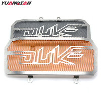 For Duke 125 200 390 Motorcycle Accessories Stainless Steel Radiator Grill Guard Cover For KTM Duke
