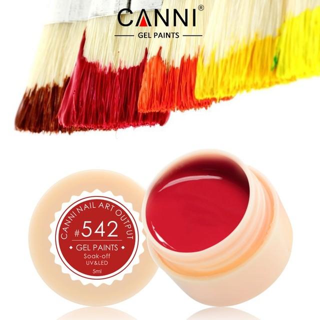 CANNI Nail Art Colour UV LED Soak Off DIY Paint Color Gel Ink UV Gel Nail Polish