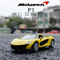 1:32 P1 Alloy Pull Back Car/ Supercars Educational Sound-in Diecast & Lamp Toy Vehicle