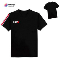 Buy mass effect n7 and get free shipping on aliexpress la maxpa n7 mass effect 3 t shirt systems alliance military emblem game tee cotton maxwellsz