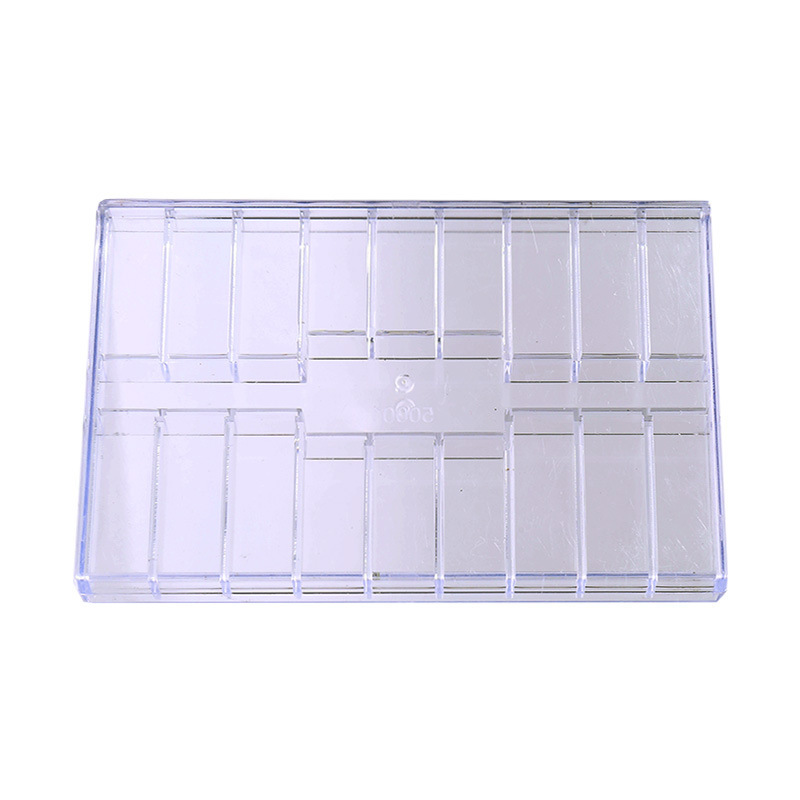 Plastic Screw Case Components Box 19 Grid Transparent Jewelry Tool Ring Electronic Parts Storage Container Diy Button Organizer
