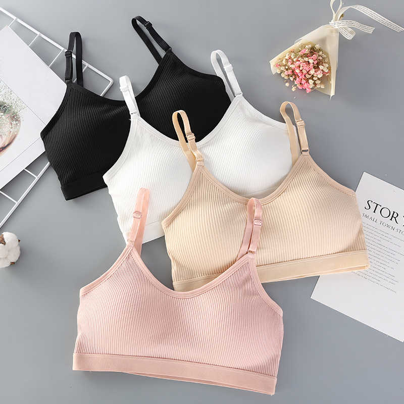 Seamless Brassiere Bras For Women Full Cup Breathable Bralette Wire Free Sleep Bra Tube Top