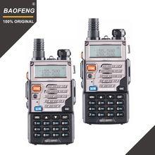 """2 шт baofeng uv 5re иди и болтай walkie talkie """"иди dual band"""