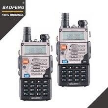 2PCS BaoFeng UV 5REเครื่องส่งรับวิทยุวิทยุPofungแบบพกพาวิทยุUV 5Rวิทยุล่าสัตว์Walky talky