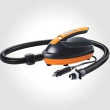 2020 neue Design Tragbare SUP MAX 16 PSI Auto Aufblasbare Pumpe DC 12V Auto Elektrische Luftpumpe Für Outdoor paddle Surfen Bord