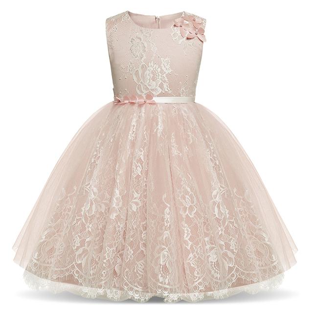 Floral Tutu Dress For Girl