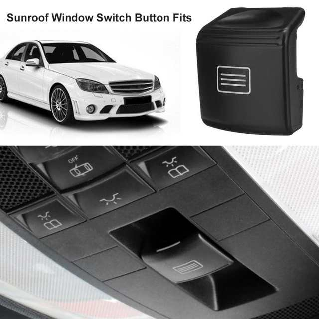 US $38 15 17% OFF|VODOOL Sunroof Window Switch Button for Mercedes Benz  W204 C CLASS W212//A207/C207 E CLASS W218 CLS CLASS Car Window Switches-in  Car