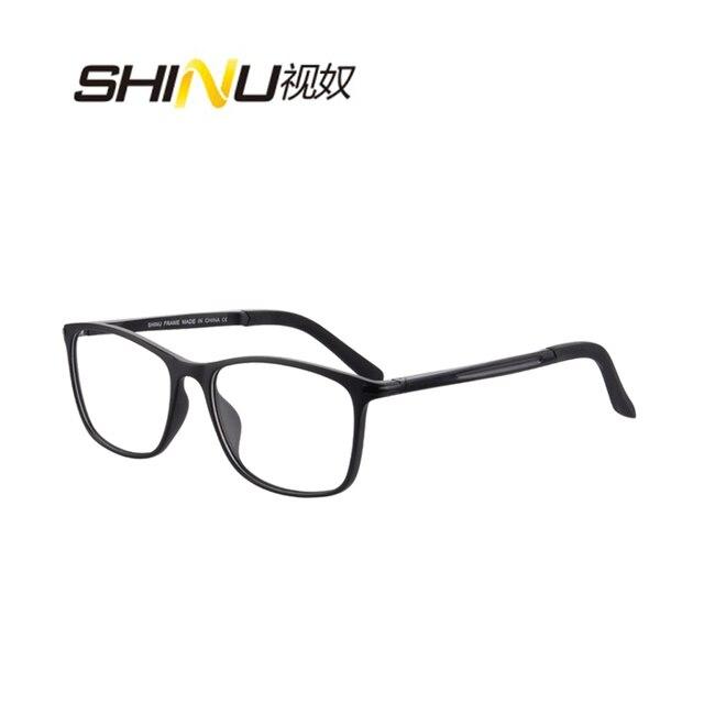 b7c18486359f Anti Blue light Photochromic Sunglasses Photosensitive Chameleon Anti-glare  Glasses Change Color Lenes Prescription Myopia Glass