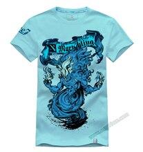 DOTA 2 Morphling T-shirt 3D Printed Navy Blue Tee Shirts For Mens