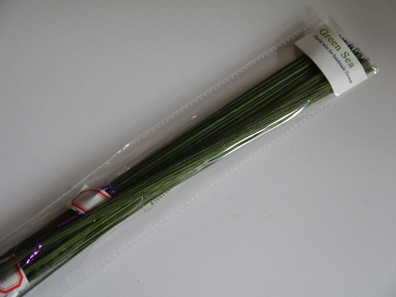 from 18gauge to 28gauge green paper covered florist wire 23 ...
