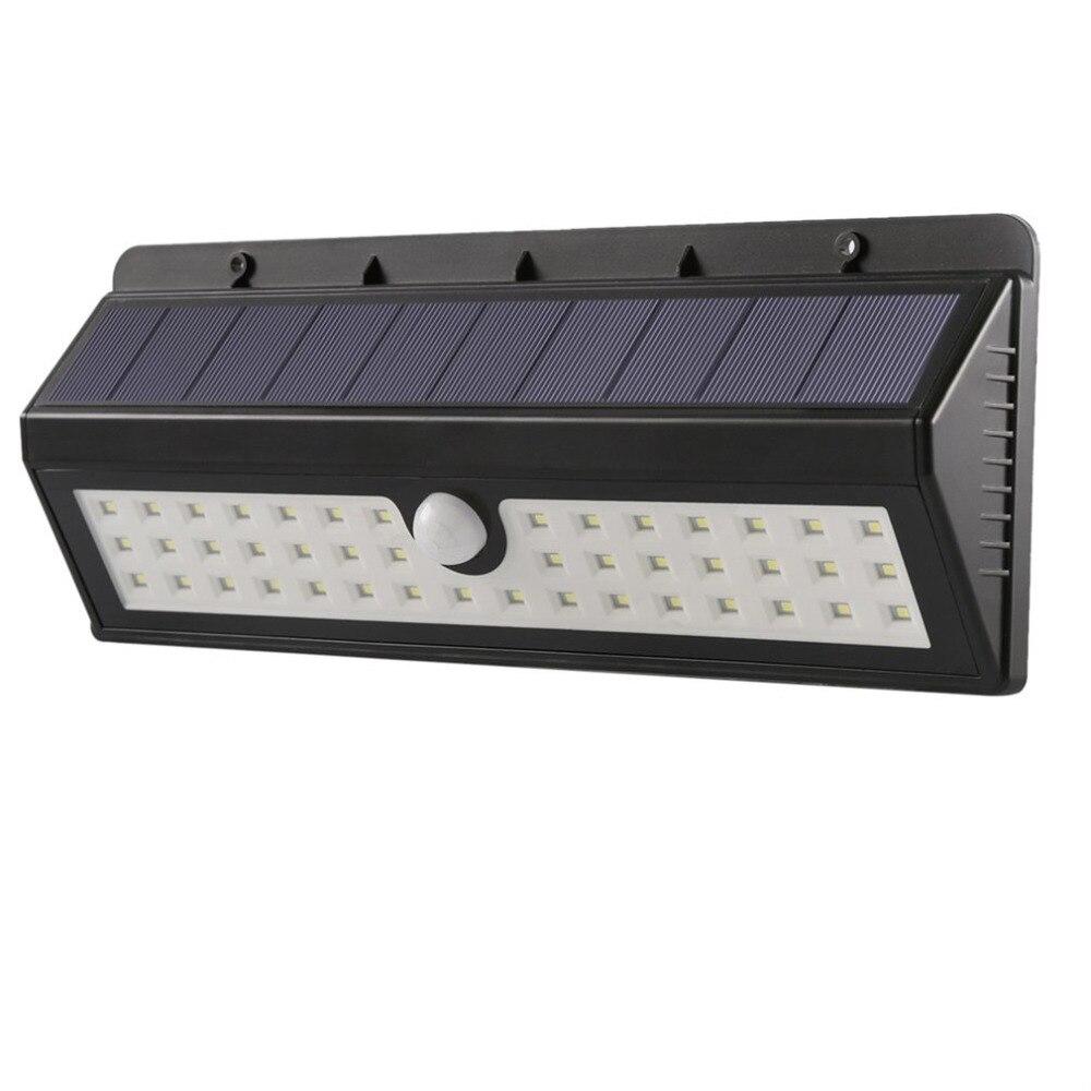 Solar LED Human Body Induction Motion Sensor Lamp Outdoor Garden light Waterproof Light Energy Saving 4400mAh 44LEDs led solar