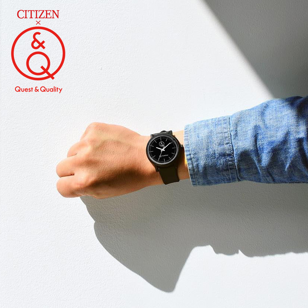 Citizen Q & Q นาฬิกาผู้ชาย top Luxury ยี่ห้อกีฬากันน้ำควอตซ์นาฬิกาผู้ชาย Neutral นาฬิกา Relogio Masculino reloj 2J005Y-ใน นาฬิกาควอตซ์ จาก นาฬิกาข้อมือ บน   1