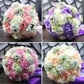 Artificial de la novia Manos Que Sostienen Flores de La Boda Ramo de Novia Ramo De La Boda Ramo de la dama de Honor Bruidsboeket Buque de Noiva