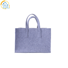 hot deal buy custom printed recycled felt shopping bag women casual totes handbags female shopper bag polyester women grocery bags as gifts