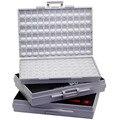 AideTek 3 пустые корпуса поверхности монтировочный резистор органайзер для конденсаторов 1206 0805 0603 пластиковые части наклейки на коробку smd ...