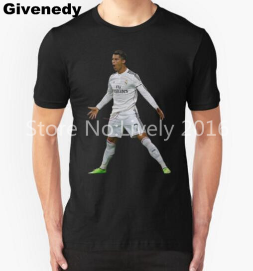 Free Shipping Mens T T Shirts Fashion 2016 Cr7