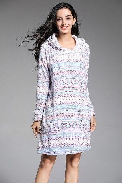 Бесплатная доставка. зимняя брендовая Подарочная Женская одежда для сна,  теплая утолщенная домашняя одежда для 63f53d42917
