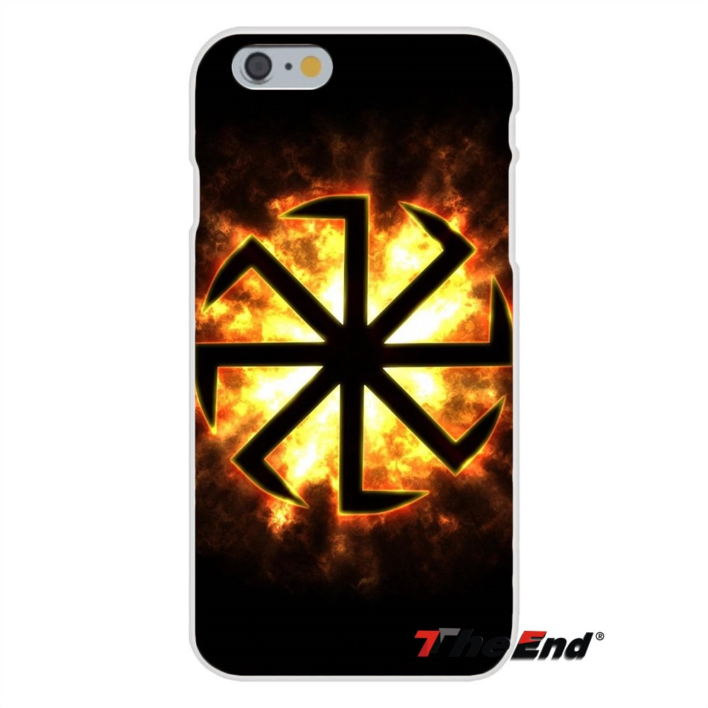 Slavic symbol Kolovrat Logo Soft Silicone Case For Samsung Galaxy A3 A5 A7  J1 J2 J3 J5 J7 2015 2016 2017-in Half-wrapped Case from Cellphones &