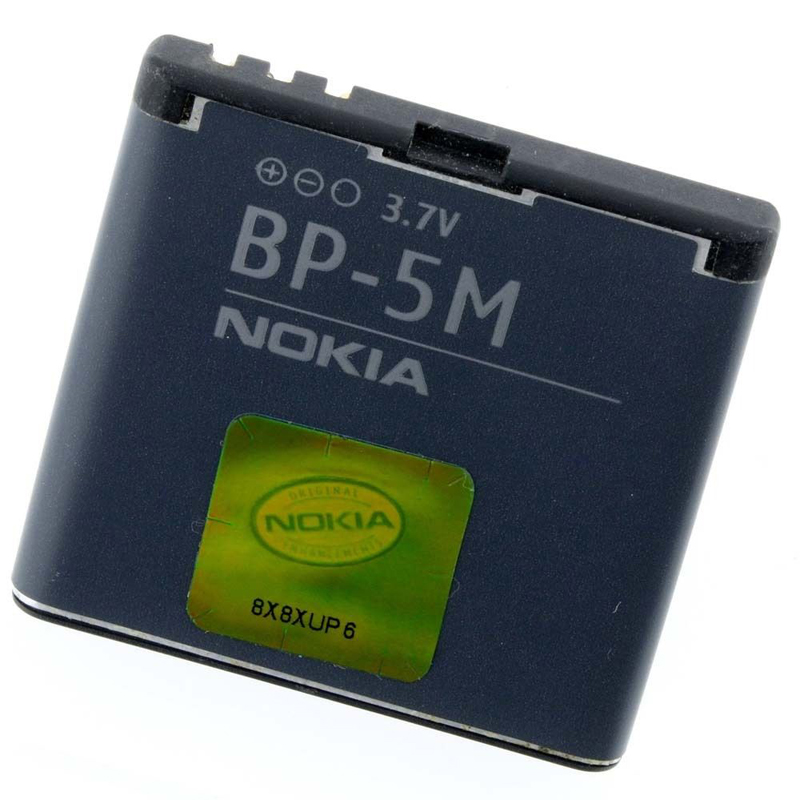 Original Nokia BP-5M phone battery for Nokia 6220 Classic 6500 Slide 8600 Luna 6110 Navigator 5610 5700 6500S 7390