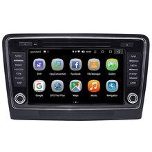 Android 8,0 автомобильный DVD мультимедийный плеер 4 ГБ/32 ГБ 2 Din Bluetooth WiFi Автомобильный Радио Стерео gps навигация для Skoda superb 2009-2013