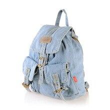 Стейси сумка горячая распродажа высокое качество женщины джинсовый рюкзак леди свободного покроя дорожная сумка женщин-старинные рюкзаки