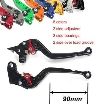 BIKINGBOY CNC Billet Long Straight Brake Clutch Levers For Kawasaki Ninja ZX7R ZX7RR 89-03 ZX9R 94-97 GTR 1000 94-06 ZRX 1100 99