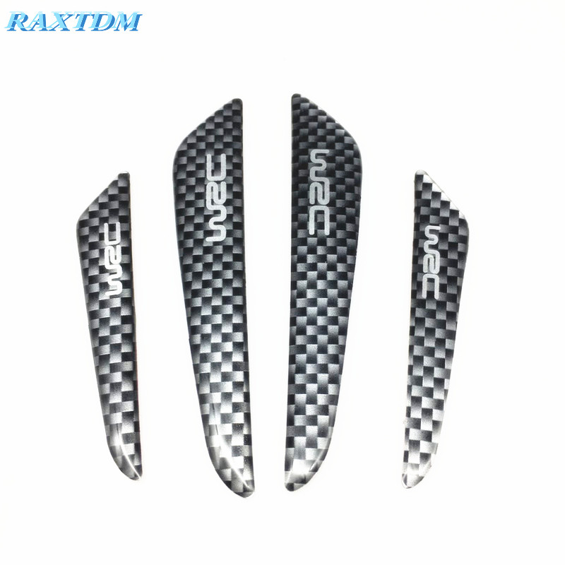 Car styling WRC carbon fiber anti collision bar case For