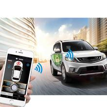 Smartphone car alarm system compatible with  phone car engine start stop system remote Smart key PKE car