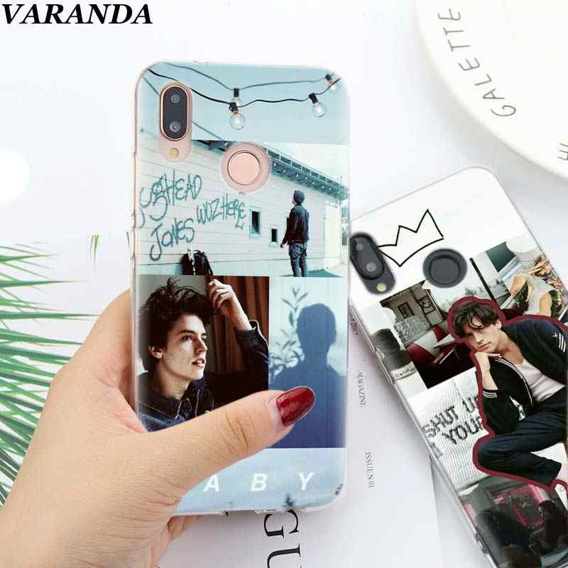 Riverdale Jughead Jones Soft TPU Cover Case Coque for Huawei Honor View 20 Y6 Y7 Y9 8X 8C 8S 8A 9 10 Lite 20i 2019 Silicone Case
