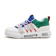 2019 New Colorful Casual Shoes Men's Sports Breathable Women's Shoes Wild Men's Shoes Mixed Color Flat Shoes