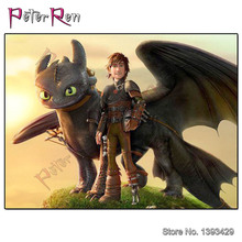 Peter ren Full Diamond Embroidery Cartoon Painting Cross Stitch 3D Mosaic How to train your dragon full Drill Home Decor
