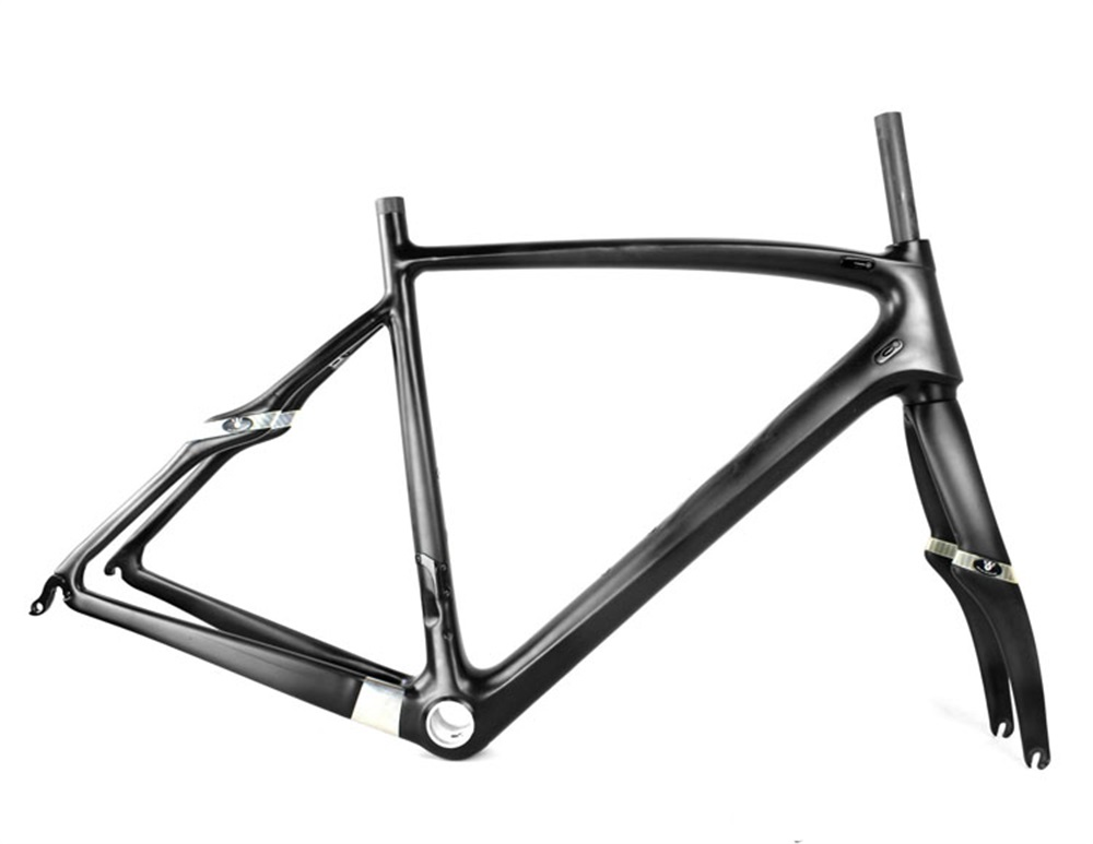T800 2018 Nouvelle Fiber De Carbone Vélo De Route Cadre 700C BSA Carbone route Vélo Cadre UD Brillant 52 cm Taille Navire Du ROYAUME-UNI/ROYAUME-UNI Stock