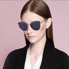 2017 new Brand Designer Vintage Women Cat Eye Sunglasses Fashion Alloy retro Sun glasses for famale